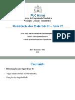 1725633_Aula 27 - Resistência dos materiais II