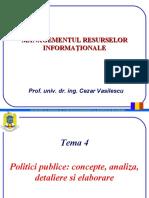04 - Politici publice - concepte, analiza, detaliere si elaborare.ppt