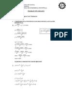 Tarea de Matemática IV