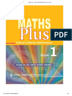 Maths Plus - A Book of Mental Mathematics for Class-1.pdf