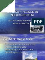 Liquidos y Fluidos en Neuroanestesia