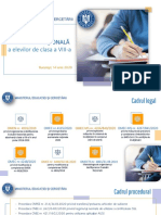 Info Evaluare Nationala MEC