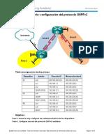 Actividad 7- Configuring Multi-area OSPFv2