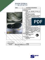 Botín Bulldozer ISO 20345 2004