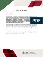 Turismo Guía del Curso de Actualización de Turismo y Hot 2020 - I