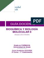 bioquímica y biología molecular II