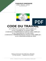 CODE DU TRAVAIL 2019