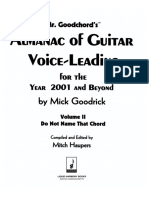 Almanac of Guitar Voice-Leading Vol. II - Mick Goodrick