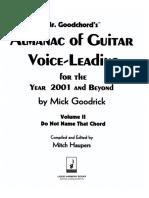 Almanac of Guitar Voice-Leading Vol. II - Mick Goodrick