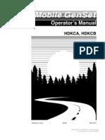 Onan Genset HDKCA HDKCB Operators Manual