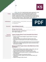 kathryn spencer - resume