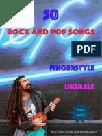 50 Pop Songs for Fingerstyle Ukulele
