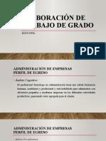 b. PERFIL DE EGRESO