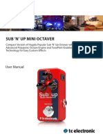 TC ELECTRONIC _ sub-n-up-mini-octaver-manual