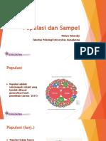 5 - Populasi dan Sampel