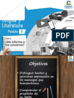 Clase 4 PPT - Me Informa o Me Convence - LL 1A