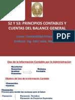 T2. Principios Contables y cuentas balance general