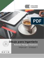 Unidad I manual Dibujo para Ingeniería