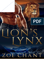 02 Lion's Lynx (Veteran Shifters #2) by Zoe Chant