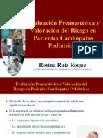 Evaluacion Preanestesica en pacientes Cardiopatas
