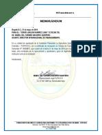 autorizacion mabel FUPASCO (BOLIVIA)
