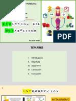 EVOLUCION-METABOLISMO