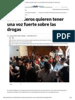 Los cocaleros quieren tener una voz fuerte sobre las drogas _ La Silla Vacía.2017.01.23