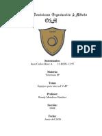 Equipos para una red VoIP