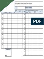 FSIG 003_Registro de limpieza y desinfección de PLANTA Y COMEDOR V. 01