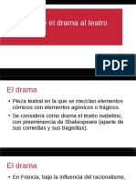 El drama y la representación