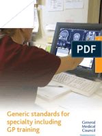 Generic Standards for Training PDF 31300576