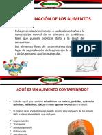 9. LA CONTAMINACIÓN DE LOS ALIMENTOS