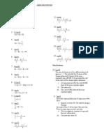 Simple Equations CSEC TOPIC