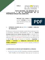 DENUNCIA INDECOPI- REPARACION O REPOSICION DEL PRODUCTO--2020