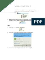 Manual de Instalación Minitab