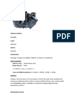 NO FERROSOS(BORNITA,ENARGTA,TETRAHEDRITA