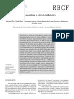 Permeabilidad cutánea in vitro del ácido kójico