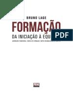 Capítulo - Livro de Bruno Lage - Formação