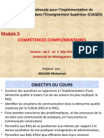 Reviewed MODULE 5 COMPETENCES COMPLEMENTAIRES.pptx