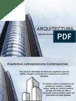 Arquitectura Latinoamericana contemporánea