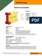 Especificaciones SUPERVIGAS EN H SERMAQUI PERU