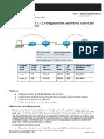 laboratorio configuracion de un router