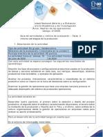 Guía de Actividades y Rúbrica de Evaluación - Unidad 3 - Tarea 4-Informe estrategias de la producción (1)
