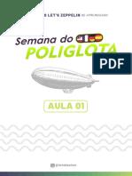 Aula 01 - Semana do Poliglota