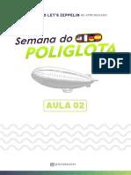 Aula 02 - Semana do Poliglota
