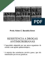 Resistência a drogas antimicrobianas