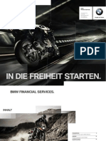 BMW FS Motorrad Broschuere