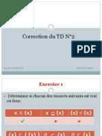 correection td2