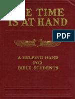 1889 - Estudios en las Escrituras 2 - El Tiempo esta a la Mano