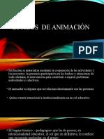 ESTILOS DE ANIMACION- UDTL